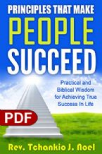 Principles That Make People Succeed (e-Book PDF download) by Tchankio J. Noel