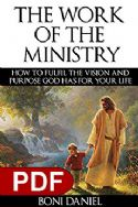 CThe Work of The Ministry How to Fulfil The Vision And Purpose God Has For Your Life(E-book) - Click To Enlarge