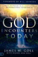 CGod Encounters Today: Your Invitation to a Lifestyle of Supernatural Experiences(Book) by James W. Goll - Click To Enlarge