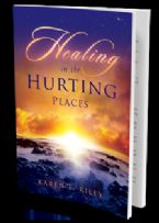 CLEARANCE SALE: Healing in the Hurting Places (book) by Karen F. Riley